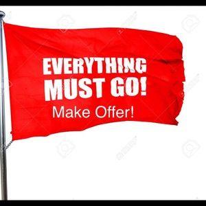 Everything must go❗️Make offer❗️💥🔺
